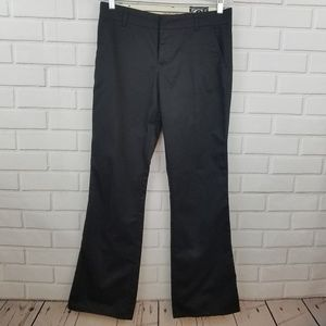 Volcom Size 7 Black Pants with Flare